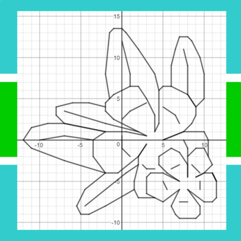 Aloha Summer - A Math-Then-Graph Activity - Solve 2-Step Equations