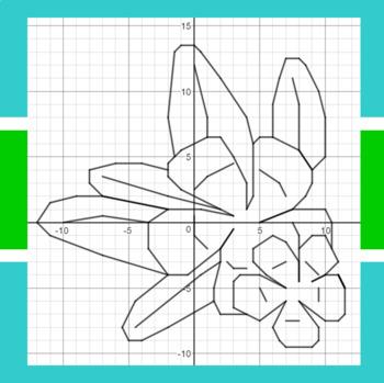 Aloha Summer - A Math-Then-Graph Activity - Solve 2-Step Equations