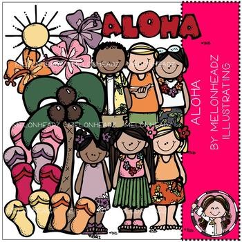 Melonheadz: Aloha clip art - COMBO PACK