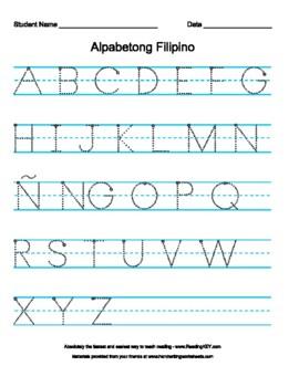 15 New Cursive Writing Worksheet Filipino