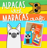 Alpacas with Maracas Craft