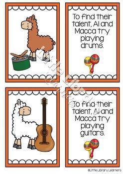 Alpacas with Maracas - Picture Book Activity Pack