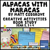Alpacas with Maracas by Matt Cosgrove - Picture Book Study Creative Activities