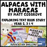 Alpacas with Maracas by Matt Cosgrove - Picture Book Study Exploring Text
