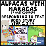 Alpacas with Maracas by Matt Cosgrove - Picture Book Study Responding to Text