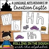 Alphabet Letter Fine Motor Play Dough Mats