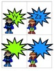 Superhero Word Wall Headers