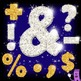 Glitter Alphabet Letters Clipart: Alpha-BLING!