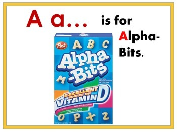 Alpha-Bit Environmental Print