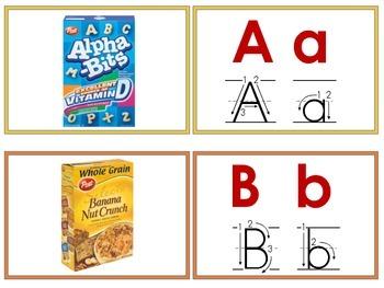 Alpha-Bit matching cards