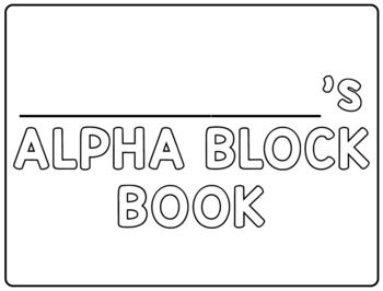 Alpha Block Book
