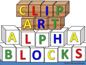 Alpha Block CLIP ART