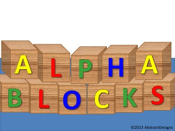 Alpha Blocks (cutouts)