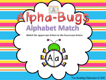 Alpha-Bugs Alphabet Match