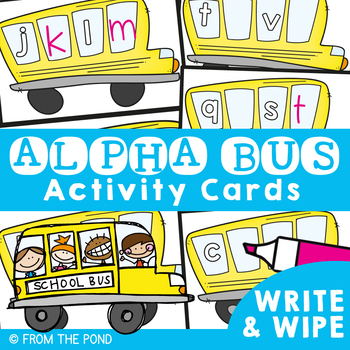 Alphabetical Order - Alpha Bus Write n Wipe