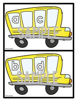 Alphabetical Order - Alpha Bus Write n Wipe