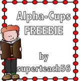 Alpha Cups FREEBIE