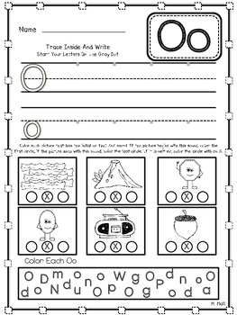 Alpha 'Fun'damentals! {Initial & Final Sound Alphabet Worksheets}