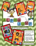 Alpha Jump - an UNO-style game for CVC words