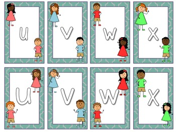 Alpha Kids Cards, Games and Printables