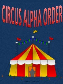Alpha Order Circus