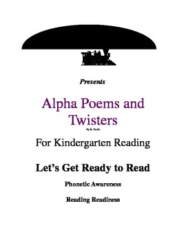 Alpha Poem & Twister Sample Activity