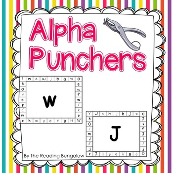 Alpha Punchers - Alphabet Sound Punch Cards