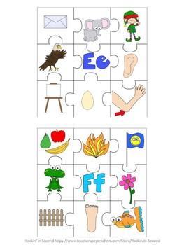Alpha-Puzzles Alphabet puzzles