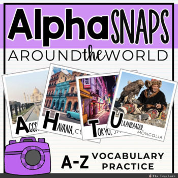 Alpha Snaps: A-Z Around the World Posters