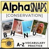 Alpha Snaps: A-Z Conservation Vocabulary