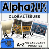 Alpha Snaps: A-Z Global Issues Vocabulary