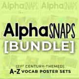 Alpha Snaps: A-Z Vocabulary [BUNDLE]