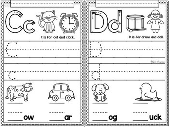 ALPHABET SOUNDS Introductory Phonics and Pre-Reading Skills Printables