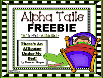 """Alpha Tails """"A"""" is For Alligator"""