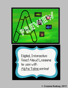 Alpha Tales Interactive Read Aloud Activities