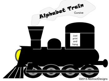 Alpha Train (cursive)