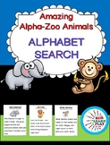 Alpha-Zoo Animals Alphabet Search