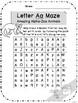 Alpha-Zoo Animals Alphabet Mazes
