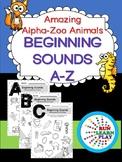 Alpha-Zoo Animals Beginning Sounds