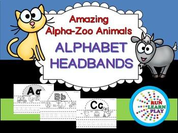 Alpha-Zoo Animals Headbands