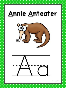 Alpha-Zoo Animals Introduction Cards
