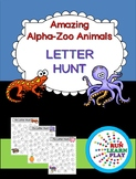 Alpha-Zoo Animals Letter Hunt
