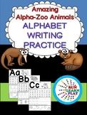 Alpha-Zoo Animals Writing Practice