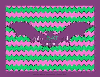 2nd Grade Common Core - Alpha-bat-ical Order