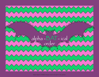 2nd Grade Common Core - Alpha-bat-ical Order