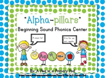 Beginning Sounds Phonics Center