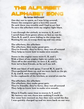 Alpha the Alpha-bot-Guardian of the Alfurbets-Science-Space-Alphabet-ABCs