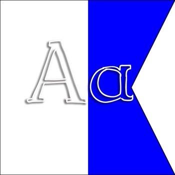 Alpha to Zulu - Signal Flags with Alphabet