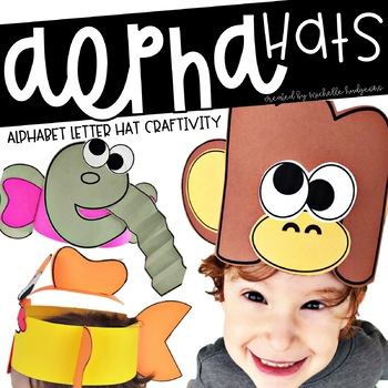 AlphaHATS (alphabet letter hats for letter of the week or letter of the day)