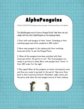 AlphaPenguins Folder Game